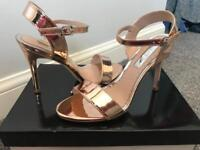 Miss KG Rose Gold Sandals BRAND NEW