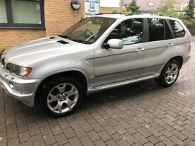 bmw x5 e53 2003 3.0d sport high spec car must be seen
