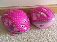 Girls helmets
