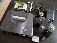 N64 with Zelda