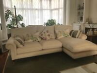 Laura Ashley as new Chaise Grand Sofa with Chaise