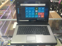 4GB Toshiba Satellite Pro L300 intel pentium dual core@ 2.00Ghz wifi windows 10. office 2010