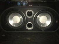 Fli active twin sub 2400 watt
