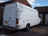 Merc Sprinter 311 LWB van for sale.