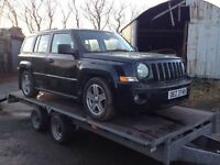 Jeep Patriot 2.0 crd in for breaking/ all parts available