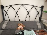 Metal headboard for double bed 4' 6""