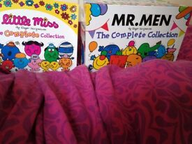 Little miss and Mr men box sets