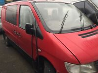 Mercedes vito 1996-2004 2.2 cdi complete Engine with gearbox