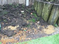 FREE aggregate and earth - 2 tonnes