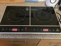 Caterlite 3100w dual ring induction hob