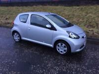 Toyota aygo 07 £20 Year Road Tax Mot Feb 2019