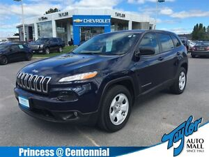 2014 Jeep Cherokee Sport Accident Free | 4WD