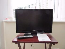 22 inch Toshiba Television with remote and manual