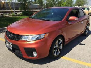 2010 Kia Forte Koup SX | bluetooth | sunroof | heated seats