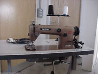 Industrial sewing machine for sale,recently serviced,230volts