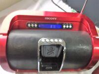 Portable Radio - Scott i-SX50 Sound System for iPod