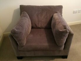 John Lewis Ikon Grey Chair - Excellent condition