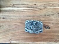 Smith & Wesson gun belt buckle
