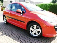 2006 Peugeot 207 1.4cc 3 door **47K Miles** MOT August 2017, 3 mth Warranty Included for free