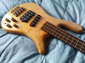 Warwick Streamer Jazzman bass