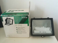 500 w Halogen Floodlight- Brand new unused
