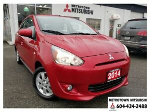 2014 Mitsubishi Mirage SE; Local & No accidents