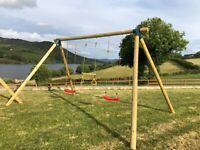 2 swings & 1 Trapeze
