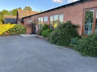 Lovely 480 sq.ft offices in Kirby Muxloe