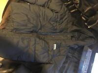 Men's hollister puffer coat