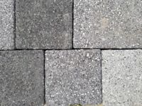 Marshalls Drivesett Argent Light Dark & Graphite Block Paving mix size pieces left over 365 pieces