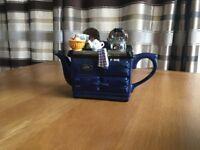 Navy Blue Aga Teapot