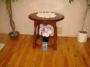 "Beautiful ""Vilas"" Solid Maple End Table"