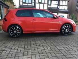 Vw golf GTD mk7 red 3door vgc 2.0 diesel low mileage Volkswagen