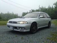 1997 lagasy gt twin turbo ( right hand drive)