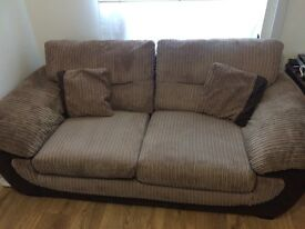 OPEN TO OFFERS X2 large two seater sofas