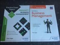 SQA Nat 5 Business practice and Course papers £10