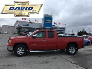 2012 GMC Sierra 1500 SLE EXT 4WD/REM.START/4.8L/BLUETOOTH/LOW KM