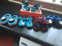 Baby's trainers and slippers size 3 and 4