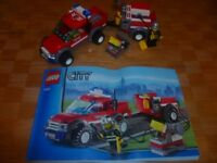 LEGO City 7942: Off Road Fire Rescue