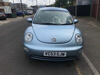 VW Beetle diesel low mileage 73k only £1350