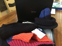 Paul Smith Hat and Scarf Set - Brand New