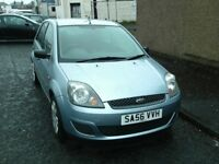 2006 56 FORD FIESTA 1.25 STYLE 5 DOOR ** MOT MAY 2019 ** LOW INSURANCE * CHEAP CAR AYRSHIRE *