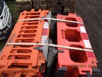 1 x Avalon Plastic Barrier 2m Length - Temporary Barriers £15 + Vat each 44 Available