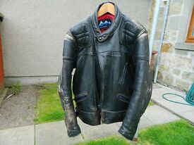 Dolomite Leather jacket and leather jeans