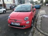 2016 66 plate Fiat 500 for sale