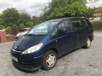 TOYOTA PREVIA AUTOMATIC, GEARBOX, INTERIOR, ALLOY, DOORS, BONNET, BOOT