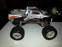 traxxas stampede  brushed