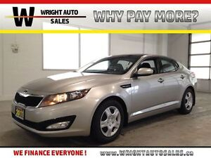 2011 Kia Optima LX| BLUETOOTH| SUNROOF| HEATED SEATS| 89,600KMS