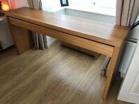 ikea malm large dressing table