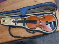 Andreas Zeller student violin & case